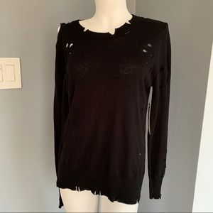 RD style Anthropologie Distressed NWT sweater S